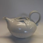 Théière porcelaine blanche COQUILLAGE 1